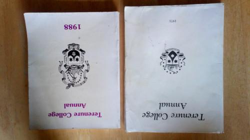 Terenure College Annual - 1988 & 1971 - School Yearbooks