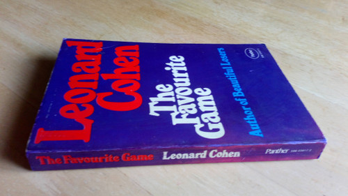 Cohen, Leonard - The Favourite Game - Vintage Panather PB -1974