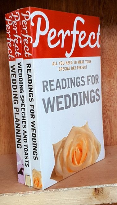 Perfect Wedding (3 Book Collection) Brand New