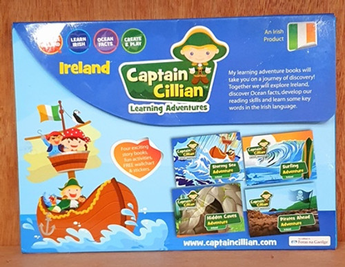 Captain Cillian Learning Adventure (4 Book Box Set)