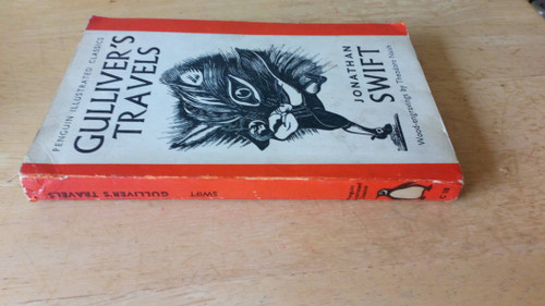 Swift, Jonathan - Gulliver's Travels - Penguin Illustrated Classics ( WIth Illustrations by Theodore Naish ) 1938