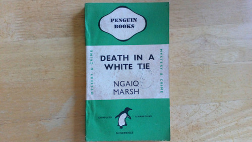 Marsh, Ngaio - Death in a White Tie - Vintage Penguin PB - Crime - 1944 ( originally 1938)