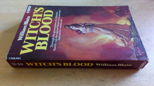 Blain, William - Witch's Blood - PB - Vintage Corgi PB  1978 ( Originally 1946)