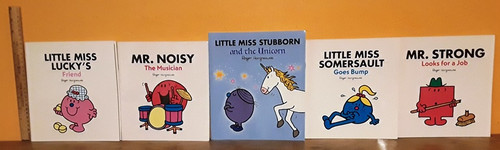 Mr. Men and Little Miss. (7 Large Book Collection)