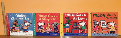 A Maisy Storybook by Lucy Cousins (7 Large Paperback Book Collection)