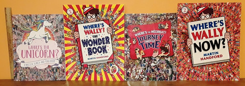 Where's (13 Book Collection) Where's Wally, Mo, Larry, the Meerkat and the Unicorn.