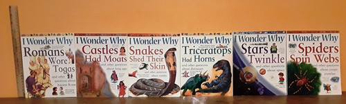 I Wonder Why (12 Medium Paperback Book Collection)