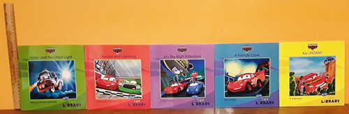 The World of Cars (5 Book Collection)