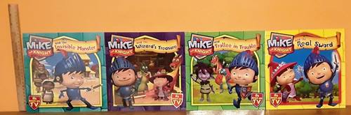 Mike the Night (9 Large Paperback Book Collection)