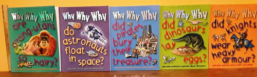 Why Why Why (9 Large Paperback Book Collection)