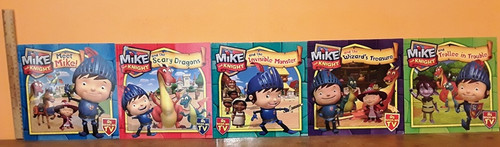 Mike the Night (6 Large Paperback Book Collection)