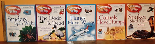 I Wonder Why (11 Large Paperback Book Collection) (Irish Independent)