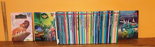 Disney's Wonderful World of Reading (58 Hardback Book Collection)