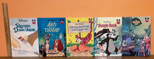 Disney's Wonderful World of Reading (5 Hardback Book Collection)