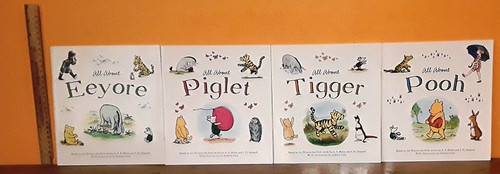 Winnie the Pooh: All About (4 Large Paperback Book Collection)