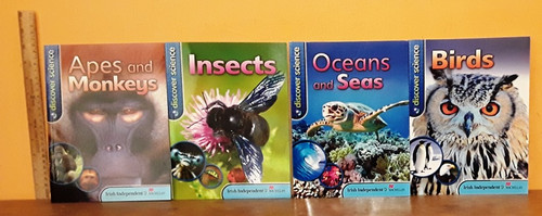 Discover Science (9 Large Paperback Book Collection) (Irish Independent)