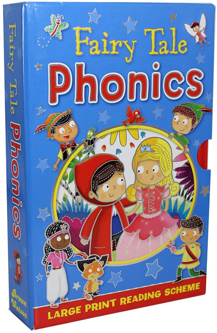 Fairy Tale Phonics (4 Book Box Set)