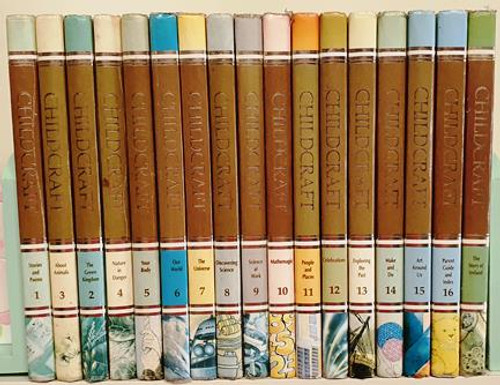 Childcraft 1990 Including The Story of Ireland (Complete 16 Book Encyclopaedia Set)
