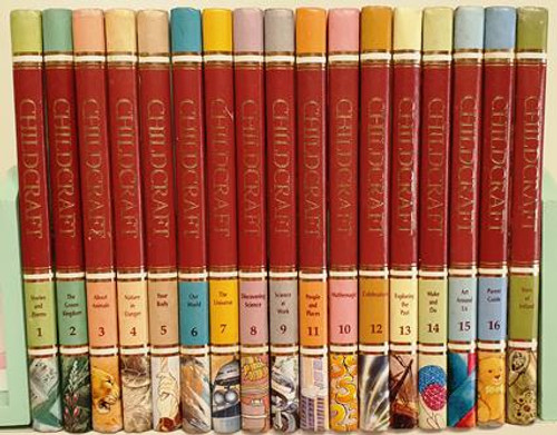 Childcraft 1988 Including The Story of Ireland (Complete 16 Book Encyclopaedia Set)