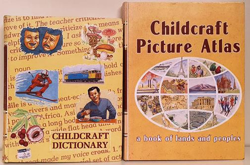 Childcraft Dictionary and Picture Atlas (2 Book Collection)