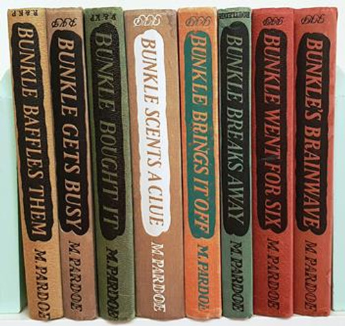 M. Pardoe: Bunkle (8 Book Collection) Circa 1953