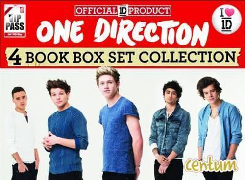 One Direction Official Carry Case (4 Book Box Set)