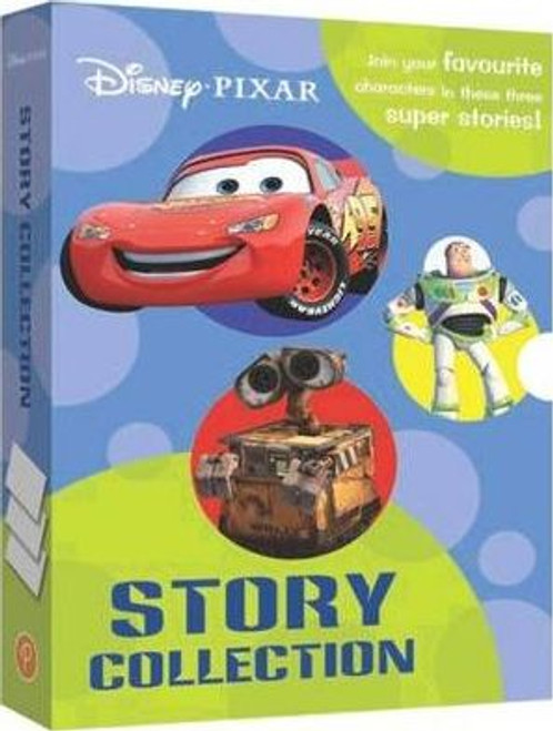Disney Pixar: Story Collection Toy Story, Cars & Wall-E (3 Book Box Set)
