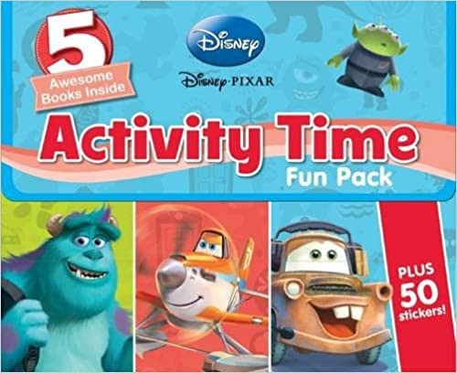 Disney Activity Time Fun Pack (5 Book Box Set)