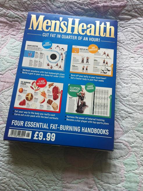 Men's Health: 15-Minute Fat Burners (4 Book Box Set)