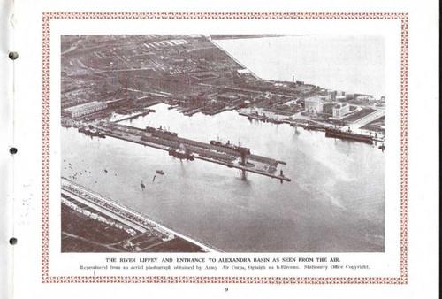 Dublin Port and Docks Board - Official Handbook of the Port of Dublin 1926 - PB Illustrated