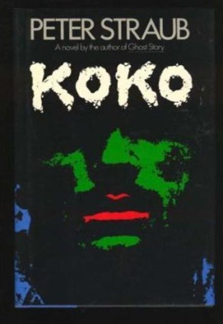 Straub, Peter - Koko - HB - 1st Edition - 1988 ( Blue Rose Trilogy - Book 1  )