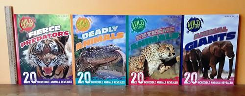 Wild Nature (8 Large Paperback Book Set)