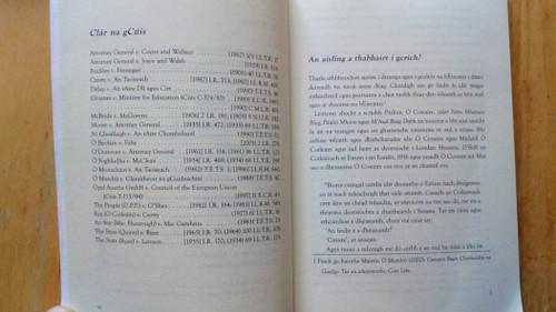 Ó Tuathail, Séamas - Gaeilge agus Bunreacht ( Irish and the Constitition ) - As Gaeilge PB - 2002 - Dlí