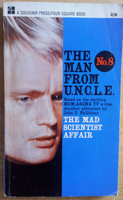 Phillifent, John T - The Man from Uncle No 8 : The Mad Scientist Affair - Vintage PB