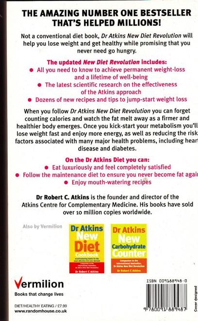 Atkins New Diet Revolution