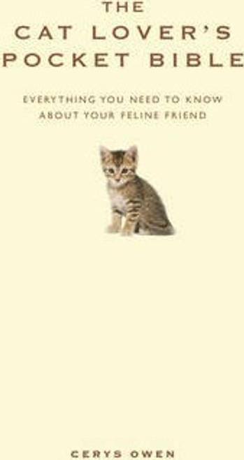 Owen, Cerys / The Cat Lover's Pocket Bible (Hardback)