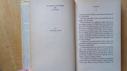 Keane, John B - Self Portrait - HB - 1st Edition - Autobiography Mercier Press - 1964 - Kerry