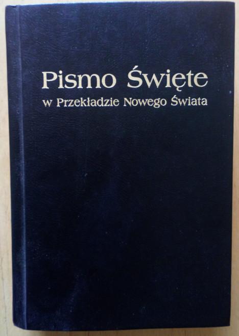 Pismo Swiete w Przekladzie Nowego Swiata - HB - Bible in Polish
