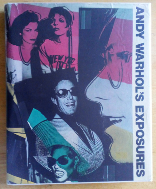 Colacello, Bob  (&  Warhol, Andy ) - Exposures - HB - Photography - 1979 - New York Celebrity 1970's