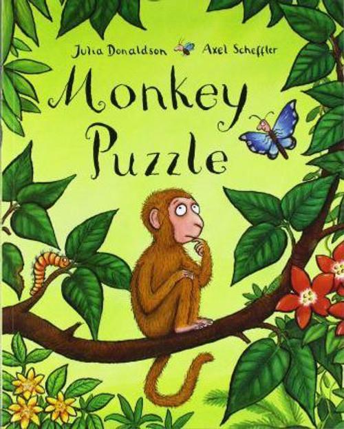 Donaldson, Julia / Monkey Puzzle (Children's Picture Book)