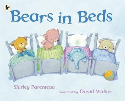 Parenteau, Shirley / Bears in Beds (Children's Picture Book)