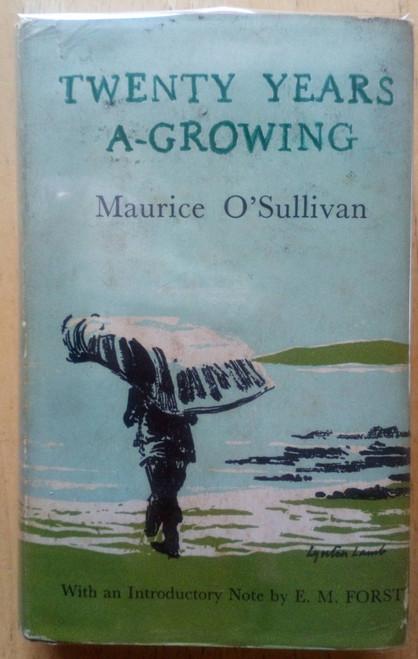 O'Sullivan, Maurice - Twenty Years A-Growing - Kerry - Blaskets - Vintage HB - Oxford World's Classics 1968