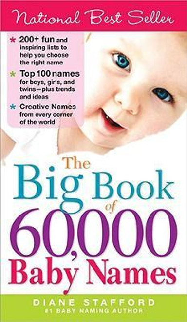 Stafford, Diane / The Big Book of 60,000 Baby Names
