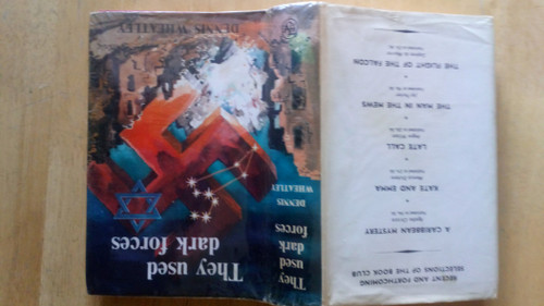 Wheatley, Dennis - They Used Dark Forces - HB - Occult - Book Club Edition 1964