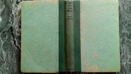 Laverty, Maura - No More Than Human - HB 1st Edition 1944