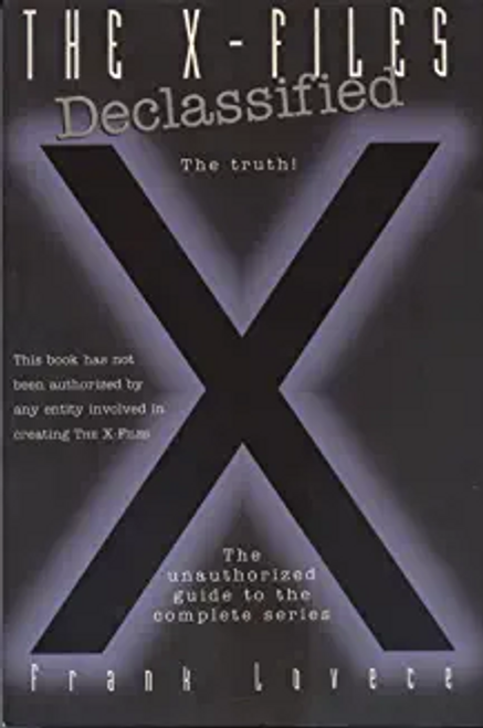 "Lovece, Frank / ""X-files"" Declassified (Large Paperback)"
