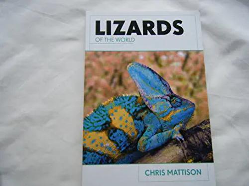 Mattison, Chris / Lizards of the World (Large Paperback)