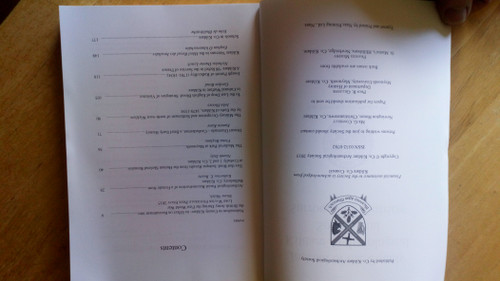 Gillespie, Raymond ( Editor) Journal of the County Kildare Archaeological Society 2014-2015 - Vol XX( Part 4) - PB - Local History