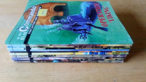 DC Thomson - Commando  Library - Illustrated - Comic / Graphic Novel - Lot of 12 Books ( Lot 4) - Warfare