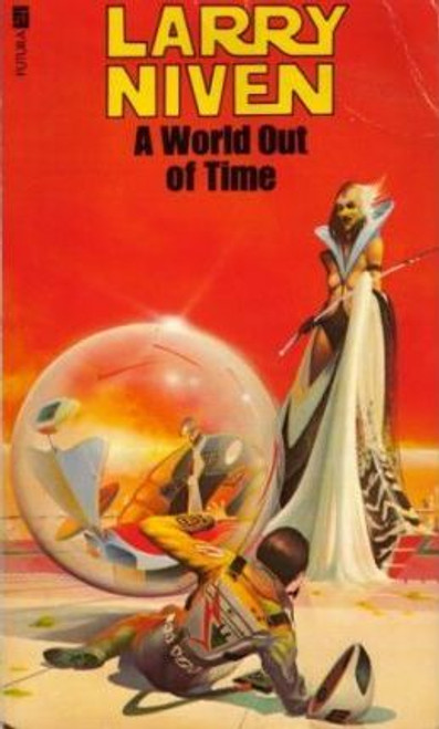 Niven, Larry - A World Out of Time - Vintage Futura PB SF - 1980 -